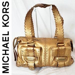 Michael Kors Gold Purse
